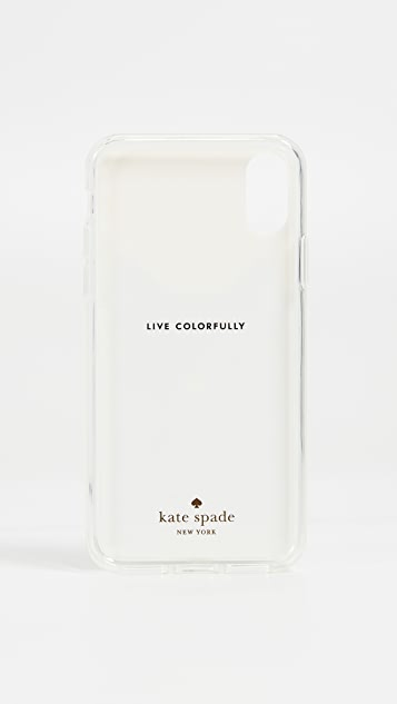 Kate Spade New York Cat Hands Free iPhone X Case
