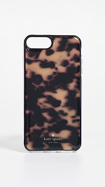 Kate Spade New York Tortoiseshell Hands Free iPhone 7 Plus / 8 Plus Case