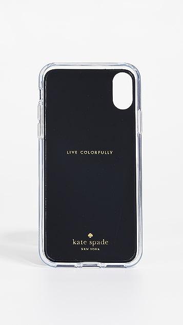 Kate Spade New York Tortoiseshell Hands Free iPhone X / XS Case