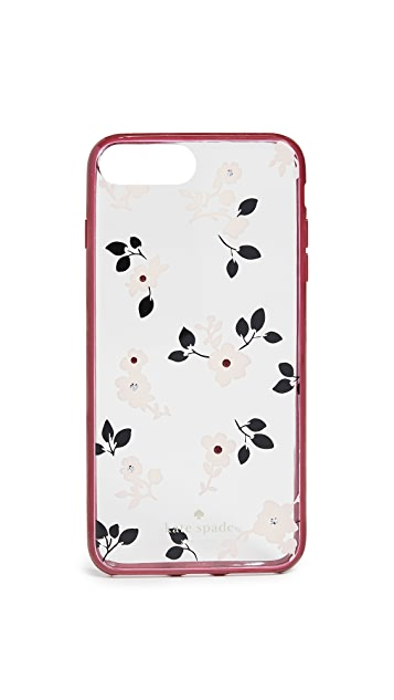 Kate Spade New York Jeweled Camellia iPhone 8 Plus Case