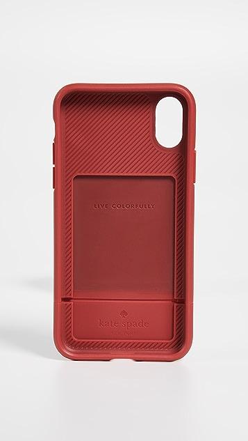 Kate Spade New York Dot Credit Card iPhone X Case
