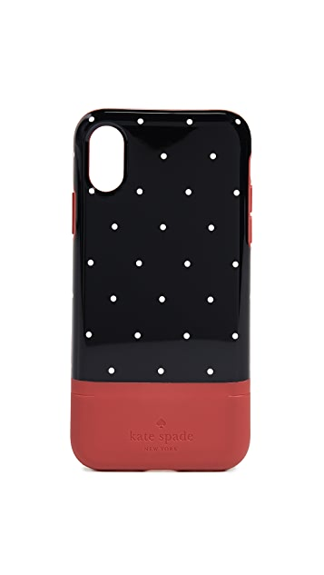 Kate Spade New York Dot Credit Card iPhone X / XS Case