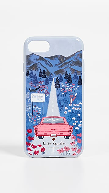 Kate Spade New York Road Scene iPhone 7 / 8 Case