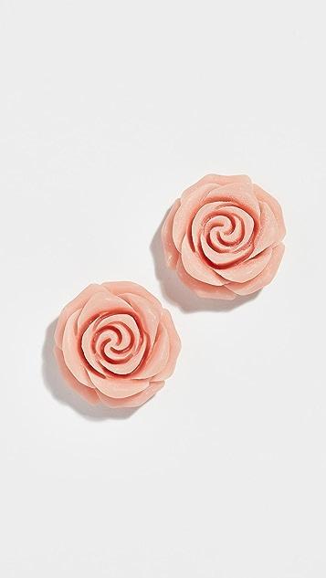 Kate Spade New York Artisanal Rose Studs