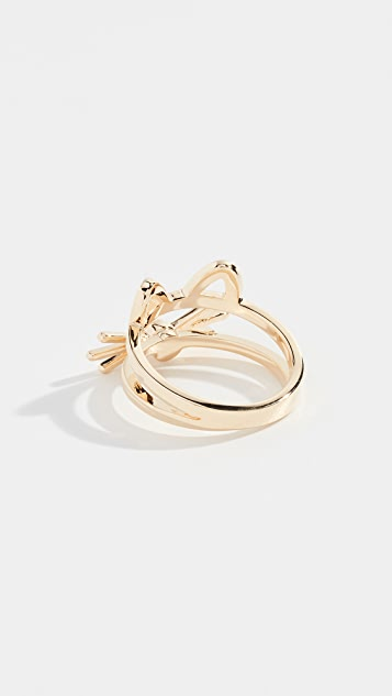 Kate Spade New York Out West Cat Ring