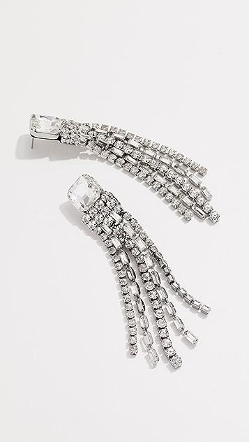 Kate Spade New York Glitzville Chain Fringe Earrings