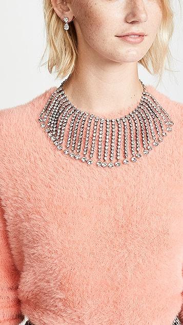 Kate Spade New York Glitzville Fringe Collar Necklace