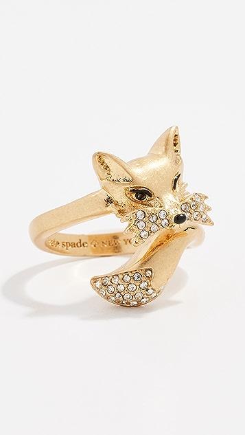 Kate Spade New York So Foxy Fox Ring