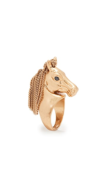 Kate Spade New York Wild Ones Horse Ring