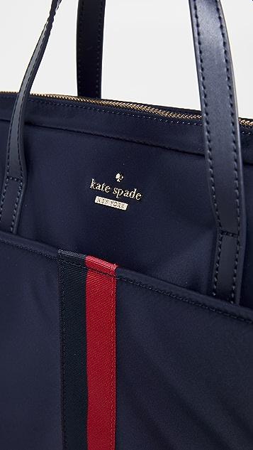 timeless design 4e1d4 135fd Varsity Stripe Universal Slim Laptop Bag
