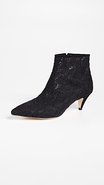 Kate Spade New York Stan Lace Booties - Black