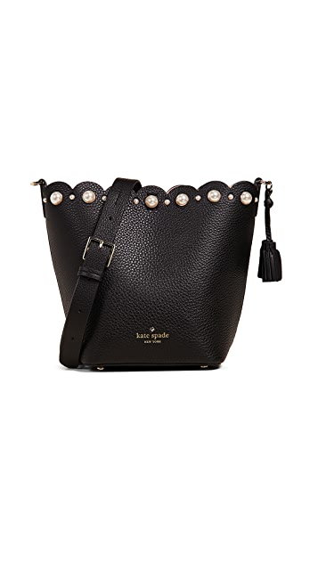 Kate Spade New York Hayes Street Pearl Vanessa Bucket Bag