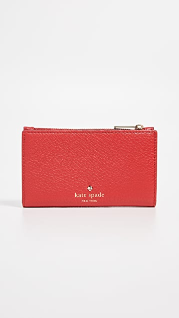 Kate Spade New York Hayes Street Pearl Mikey Wallet