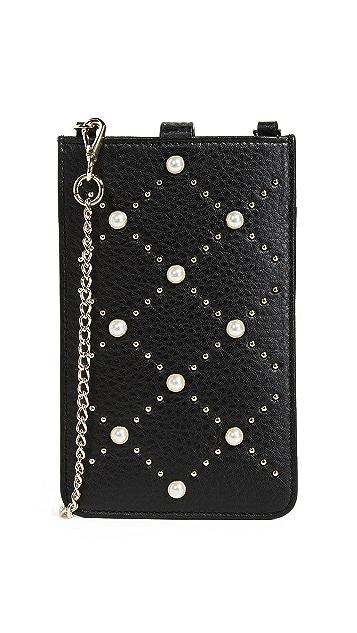 Kate Spade New York Pearl Phone Sleeve Cross Body Bag