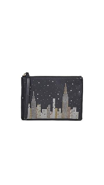 Kate Spade New York Glitzy Ritzy Skyline Small Willa Wallet