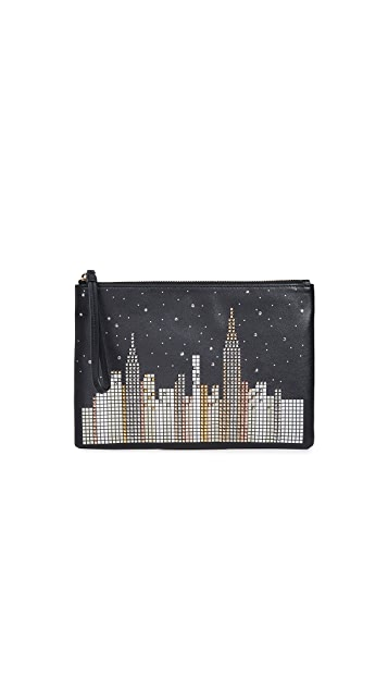 Kate Spade New York Glitzy Ritzy Skyline Willa Wallet