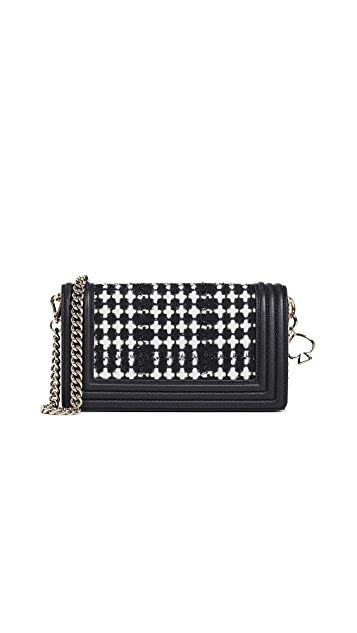 Kate Spade New York Reese Park Fabric Franny Wallet on a Chain