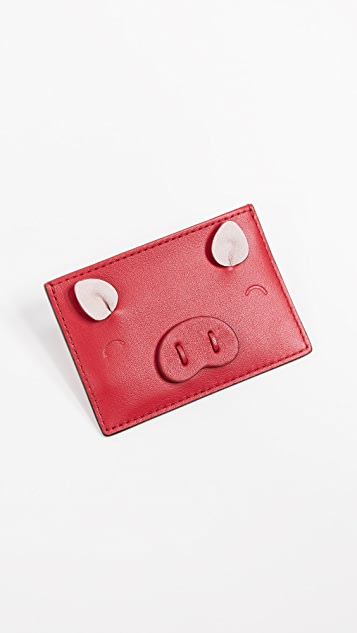 Kate Spade New York Year of the Pig Card Case