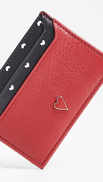 Kate Spade New York Blake Street Hearts Lynleigh Card Case