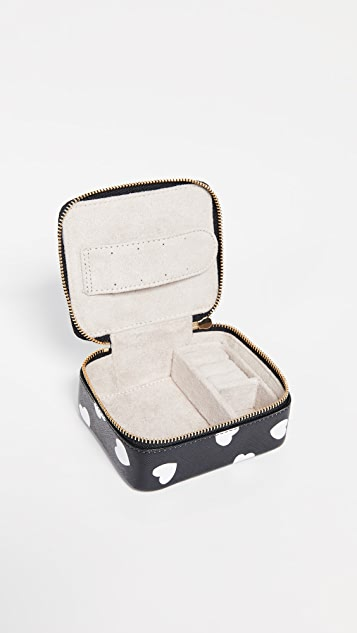 Kate Spade New York Cameron Street Hearts Ollie Jewelry Case