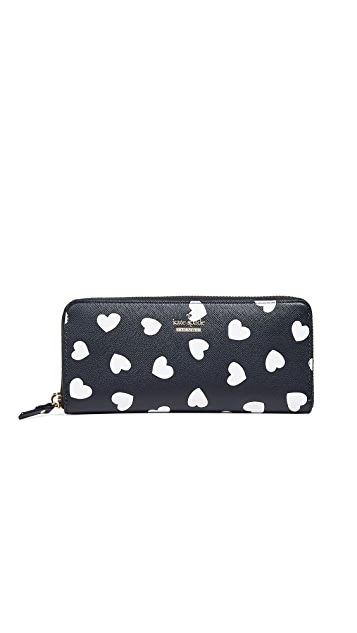 Kate Spade New York Cameron Street Hearts Lindsey Wallet