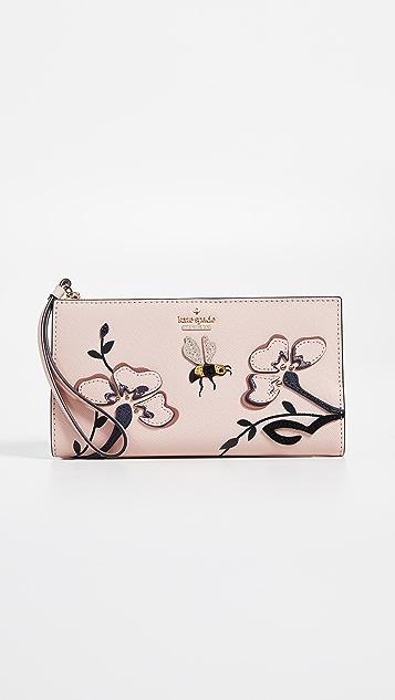 Kate Spade New York Blossom Drive Eliza Wristlet