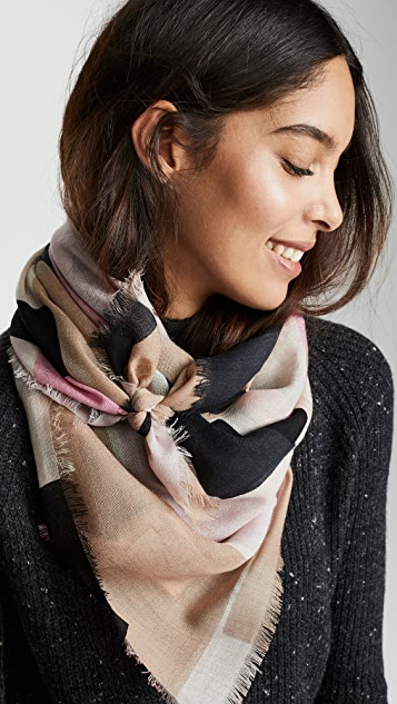 Kate Spade New York Empire Geo Wool Scarf