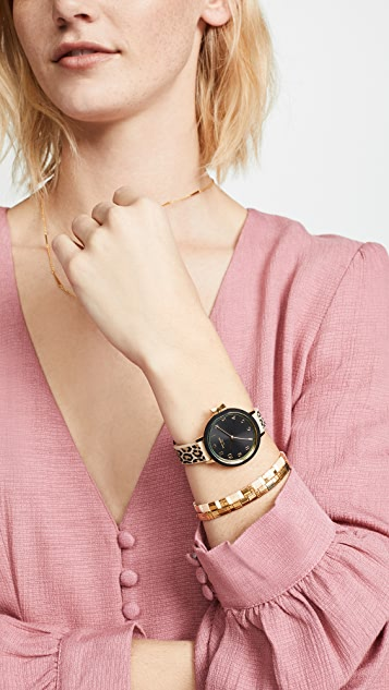 Kate Spade New York Park Row Leopard Watch, 33mm