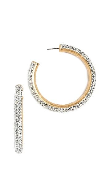 Kate Spade New York Razzle Dazzle Hoop Earrings
