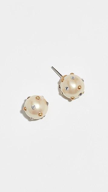 Kate Spade New York Imitation Pearls Pearls Pearls Stud Earrings