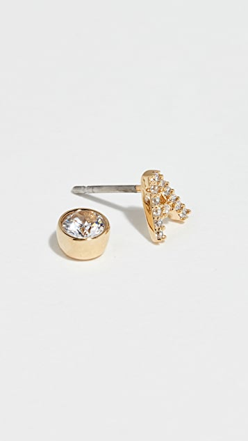 Kate Spade New York One in a Million Pave Stud Earrings