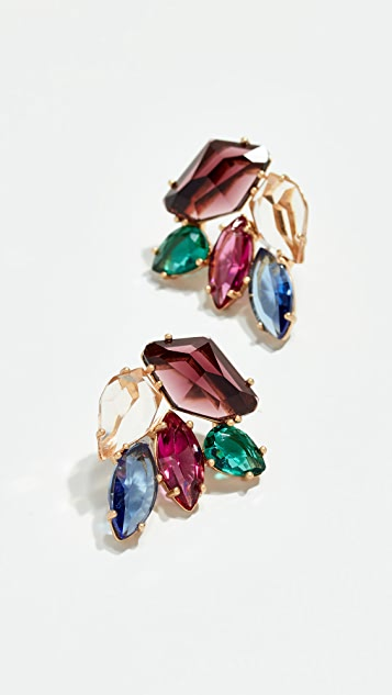 Kate Spade New York Rock It Cluster Stud Earrings