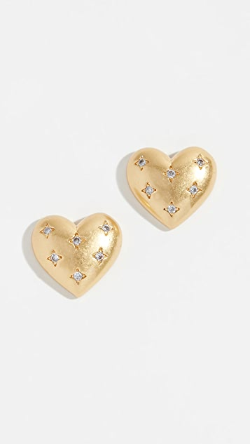 Kate Spade New York My Precious Heart Stud Earrings
