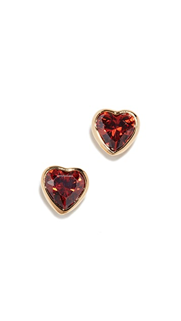 Kate Spade New York Romantic Rocks Studs