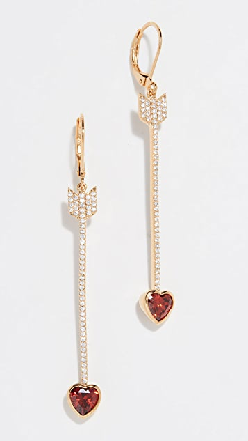 ca2964e90 Kate Spade New York Romantic Rocks Linear Earrings | SHOPBOP