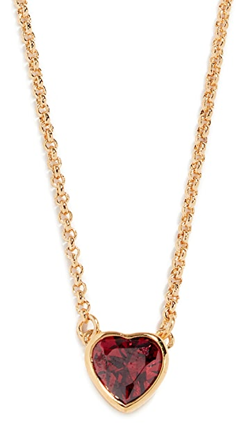 Kate Spade New York Romantic Rocks Mini Pendant Necklace