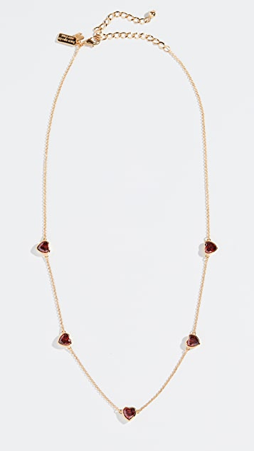 Kate Spade New York Romantic Rocks Short Scatter Necklace