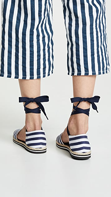 Kate Spade New York Chandra Lace Up Espadrilles