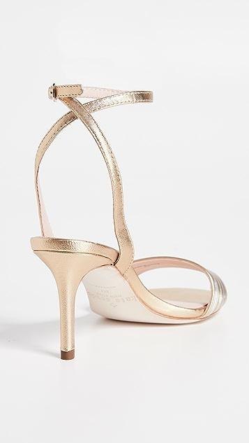 Kate Spade New York Jasmyne Kitten Heel Sandals
