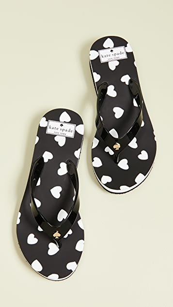 c28b92d1be75 Kate Spade New York Milli Flip Flops ...
