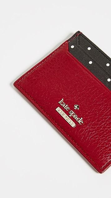 Kate Spade New York Blake Street Dot Lynleigh Card Case