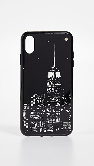 Kate Spade New York Glow in the Dark Skyline iPhone XS Max Case