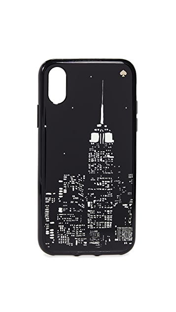 Kate Spade New York Glow in the Dark Skyline iPhone X / XS Case