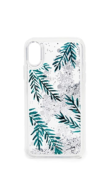 Kate Spade New York Holly Liquid Glitter IPhone X / XS Case