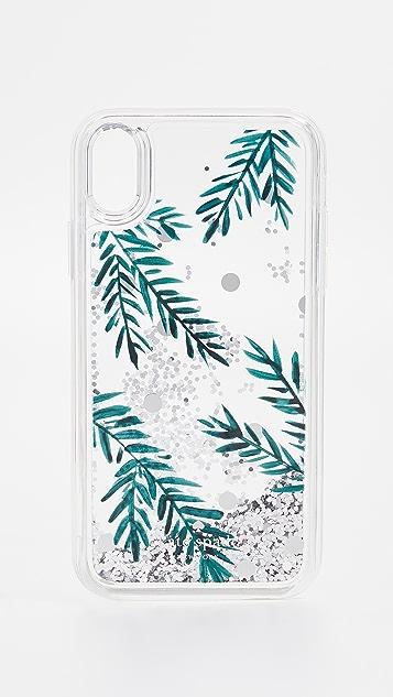 Kate Spade New York Holly Liquid Glitter iPhone XR Case