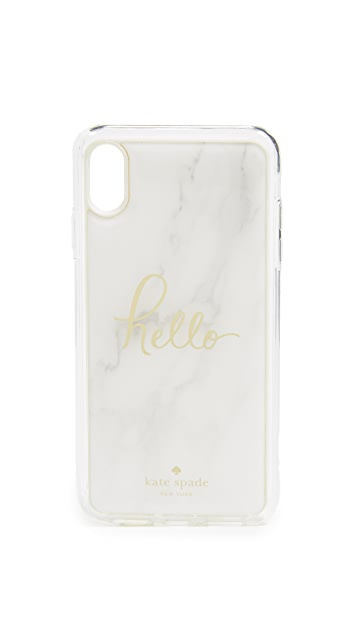 Kate Spade New York Marble Hands Free iPhone X Max Case