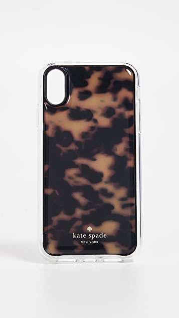 Kate Spade New York Tortoiseshell Hands Free iPhone XR Case
