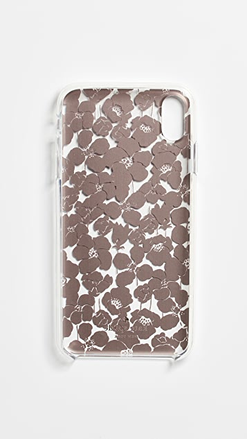 Kate Spade New York Floret Clear iPhone XS Max Case