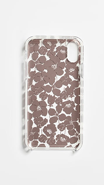 Kate Spade New York Floret Clear iPhone XS / X Case