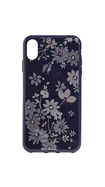 Kate Spade New York Glitter Petite Posy iPhone XS Max Case